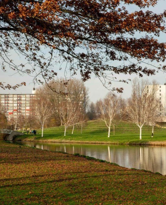 Prinsenpark en bebouwing
