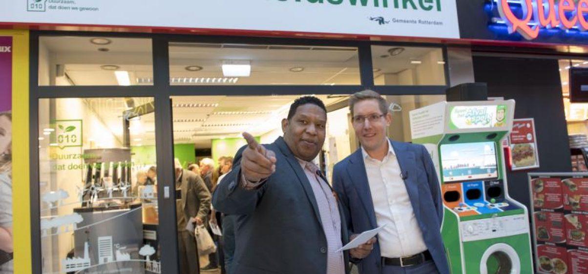 Duurzaamheidswinkel-opening