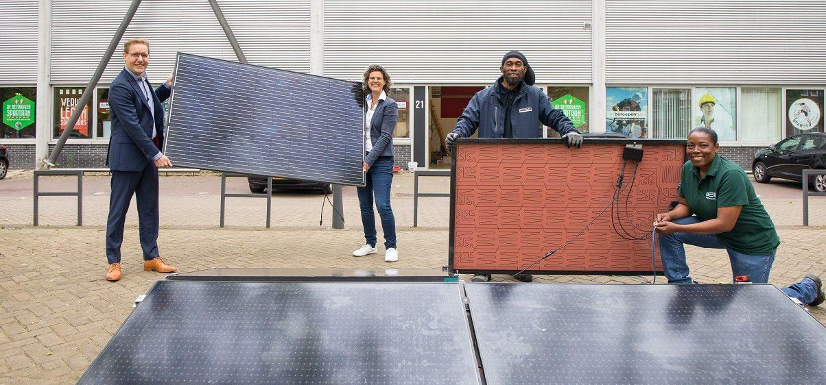 Klimaatfonds - zonnepanelen