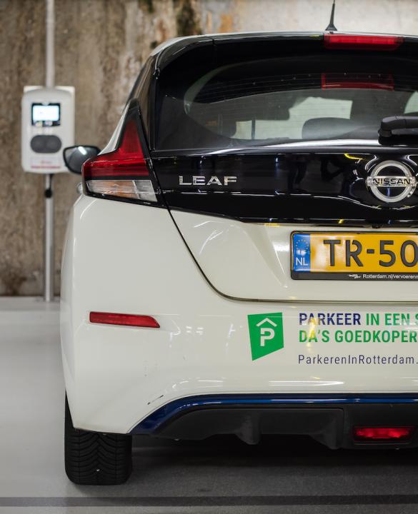 Rotterdamse parkeergarages krijgen slimme laadpalen_header