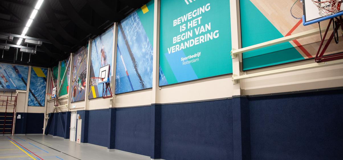 Vernieuwde sportcentrum Kralingen is duurzaamste sportcentrum van Rotterdam_header